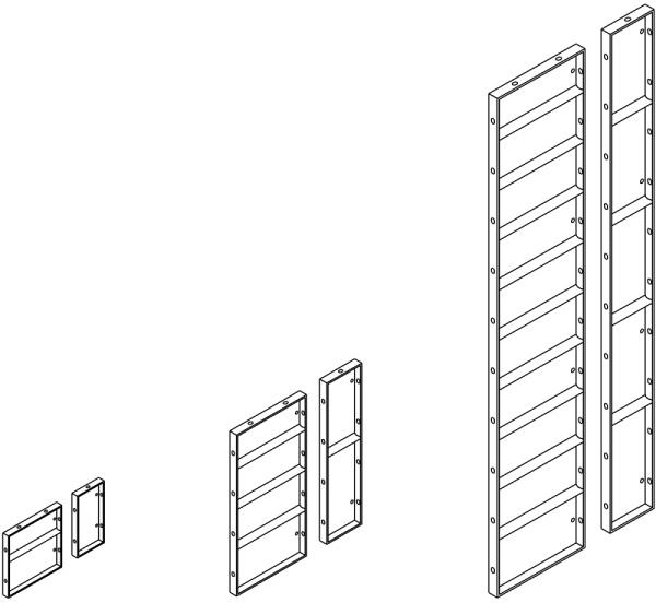 obrázok - sortiment panelov debnenia NOE Universal
